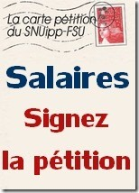 PETITION SALAIRE
